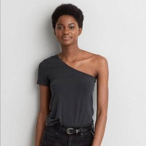 American Eagle Soft & Sexy One Shoulder T-shirt